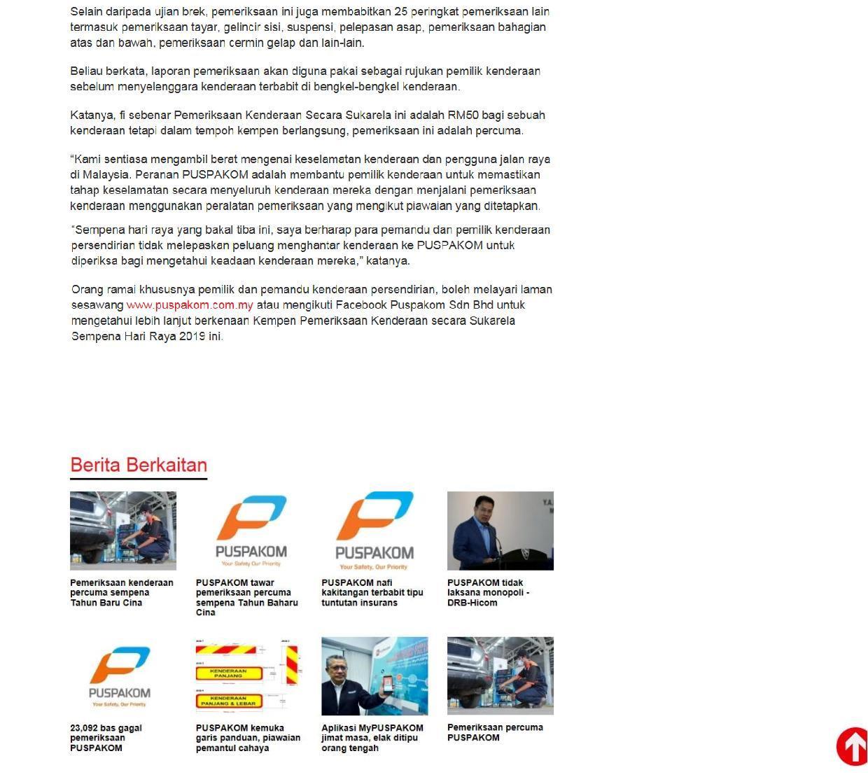 Berita Harian.com_25.5_Pemeriksaan kenderaan secara sukarela percuma sempena Aidilfitri 3-3
