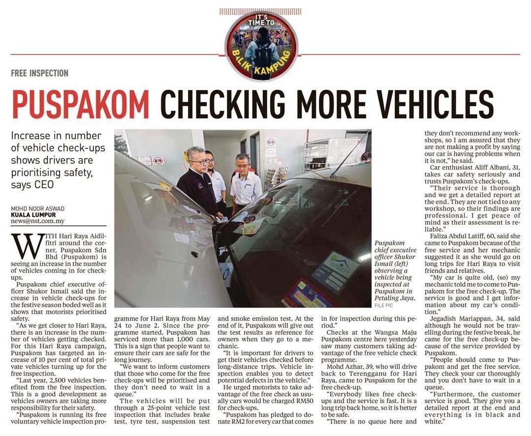 New Straits Times_30.5_PUSPAKOM checking more vehicles